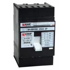 Выключатель автоматический ВА-99 250/160А 3P 35кА EKF PROxima mccb99-250-160