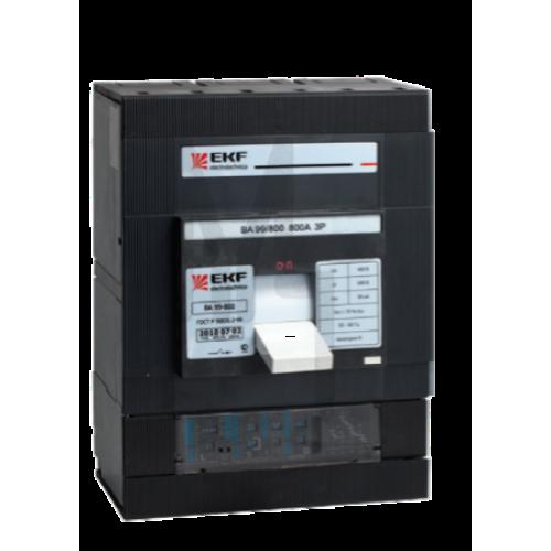 Выключатель автоматический ВА-99  800/630А 3P 35кА EKF PROxima mccb99-800-630