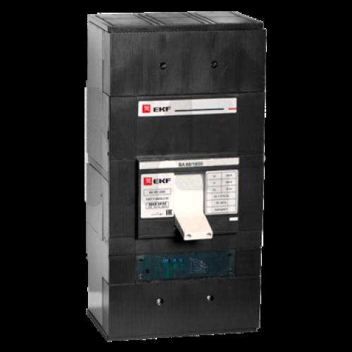 Выключатель автоматический ВА-99 1600/1000А 3P 50кА с электронным расцепителем EKF PROxima mccb99-1600-1000