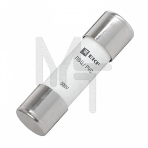 Плавкая вставка цилиндрическая ПВЦ (10х38) 6А EKF PROxima pvc-10x38-6