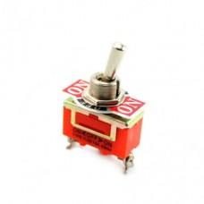 Выключатель-тумблер 1122 вкл-откл-вкл 1 группа контактов (25шт/упак) ЭНЕРГИЯ Е1103-0003