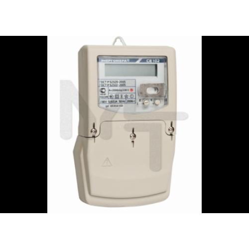 Счетчик Энергомера CE102M S7 145-AV (1ф, ЖКИ, многотариф, в щиток) 101002003010515