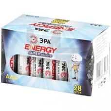 Батарейки ЭРА LR03 box ААА 28шт/уп Б0002909