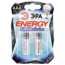 Батарейки ЭРА LR03-2BL ААА 2шт/уп C0038453