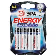 Батарейки ЭРА LR6-4BL АА 4шт/уп C0038450