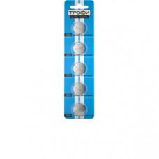 Батарейки Трофи CR2016-5BL 5шт/бл C0032183