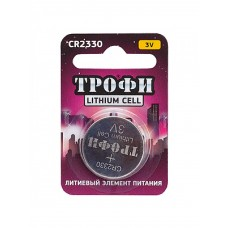 Батарейки Трофи CR2330-1BL 1шт/бл Б0003652