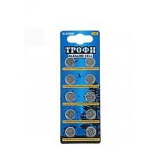 Батарейки Трофи G10 (389) LR1130, LR54 NEW 10шт/бл C0035051