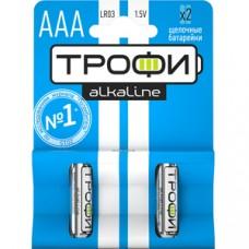 Батарейки Трофи LR03-2BL NEW C0034929