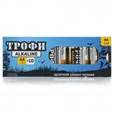 Батарейки Трофи LR6-10 АА 10шт/box Б0002907