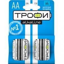 Батарейки Трофи LR6-4BL NEW C0034657