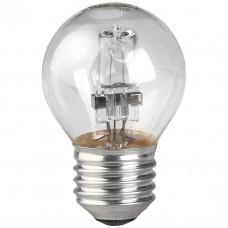 Лампа галогенная ЭРА Hal-P45-42W-230V-E27-CL С0038553