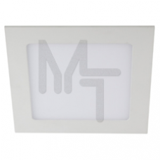 LED 2-12-4K Светильник ЭРА светодиодный квадратный LED 12W 220V 4000K Б0017491