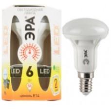 Лампа светодиодная ЭРА LED smd R50-6w-827-E14 Б0028489