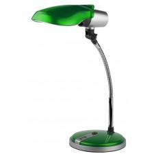 NE-301-E27-15W-GR ЭРА наст.светильник зеленый Б0005612