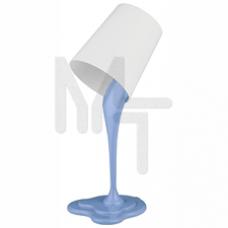 NE-306-E27-25W-BU ЭРА наст.светильник  голубой Б0003534