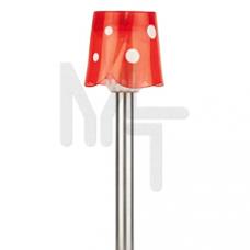 SL-SS36  ЭРА Садовый светильник на солнечной батарее, нержавеющая сталь, стальной, цветной, 36 см Б0007509