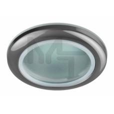 WR1 CH Светильник  ЭРА влагозащищенный MR16,12V/220V, 50W  хром C0043845