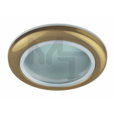 WR1 GD Светильник  ЭРА влагозащищенный MR16,12V220V, 50W золото C0043846
