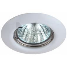 ST3 WH Светильник  ЭРА штампованный MR16,12V/220V, 50W белый C0043801