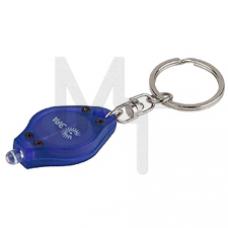 B22 Фонарь ЭРА LED брелок, пластик, бат в компл, бл Б0005251