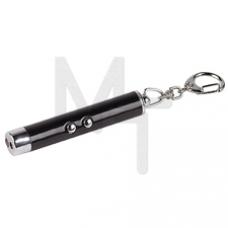 B30 Фонарь ЭРА брелок 1xLED + лазерная указка, алюминий, бат в компл, бл Б0005252