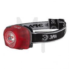 G3W Фонарь ЭРА Налобный 3W LED, коллиматор, 3хААА, 4 режима, бл. (25/100) Б0002249