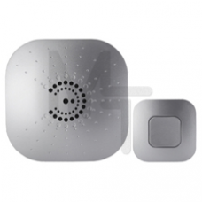 Звонок ЭРА BIONIC Silver беспроводной Б0017749