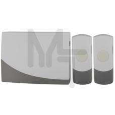 Звонок ЭРА C91-2 беспроводной, две кнопки Б0018998