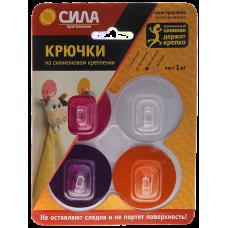 SH5-R4GMIX-24 Крючки  СИЛА Крючки на силикон. крепл. d5, набор GIRL до 1 кг, 4 шт. Б0002525