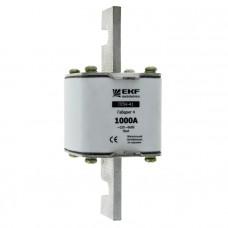 Плавкая вставка ППН-41 1250/1000А габарит 4 EKF PROxima fus-41/1250/1000