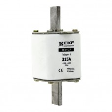 Плавкая вставка ППН-37 400/200А габарит 2 EKF PROxima fus-37/400/200
