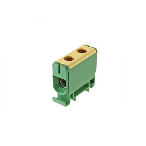 Клемма силовая вводная КСВ 35-150 желто-зеленая EKF PROxima plc-kvs-35-150-y-green
