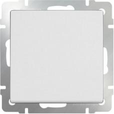 Выключатель одноклавишный (белый) / WL01-SW-1G a051138