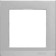 Рамка на 1 пост (серебряный) / WL04-Frame-01 a031802
