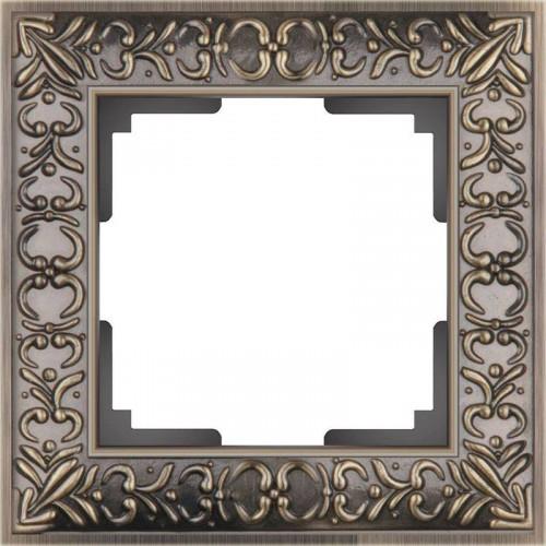 Рамка на 1 пост /WL07-Frame-01/W0011512(бронза) a050937