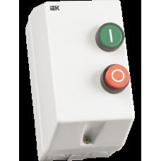 Контактор КМИ10960 9А в оболочке Ue=380В/АС3  IP54 ИЭК KKM16-009-380-00