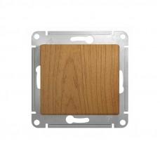 SE Glossa Дерево Дуб Выключатель 1-клавишный, сх.1  Schnaider SE GSL000511
