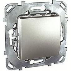 SE Unica Top Алюминий Переключатель 1-клавишный (сх.6) MGU5.203.30ZD