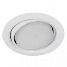KL35А WH Светильник ЭРА под лампу Gx53 поворотный, 220V, 13W, белый Б0017638