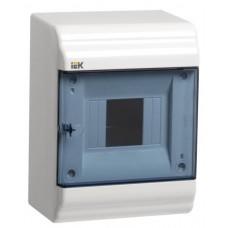 Бокс ЩРН-П-4 модуля навесн.пластик IP41 PRIME MKP82-N-04-41-20