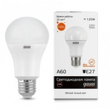 Лампа светодиодная Gauss LED Elementary A60 15W E27 2700K 23215