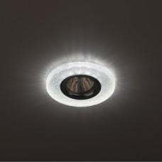 DK LD1 WH Светильник ЭРА декор cо светодиодной подсветкой, белый Б0018775
