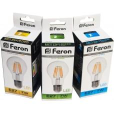Лампа светодиодная LB-57  (7W) 230V E27 4000K филамент 25570