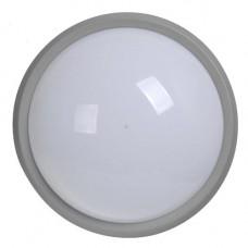 Светильник ДПО 1601 серый круг LED 8Вт IP54 LDPO0-1601-8-1-K03