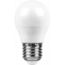Лампа светодиодная SBG4505 5W 4000K 230V E27 G45 55026