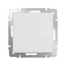 Выключатель одноклавишный проходной (белый) / WL01-SW-1G-2W a051111