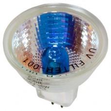 Лампа галогенная MR-16 12V 20W С/С super white blue супер белая Feron 02268