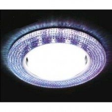 Светильник G290 CH хром/перламутровый GX53+3W(LED WHITE) G290CH/P