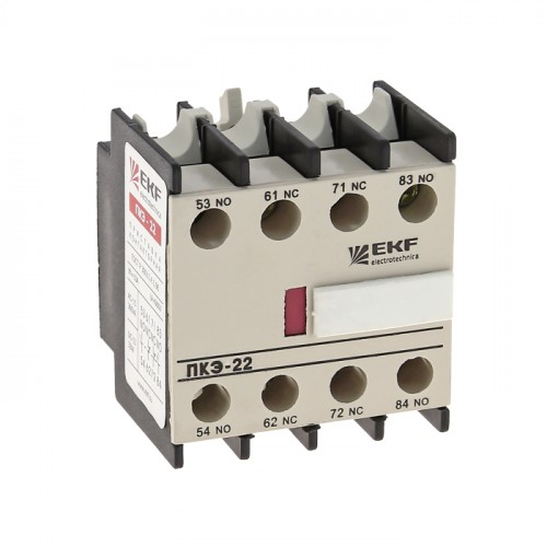 Приставка контактная ПКЭ-40 4NO EKF PROxima ctr-sc-26
